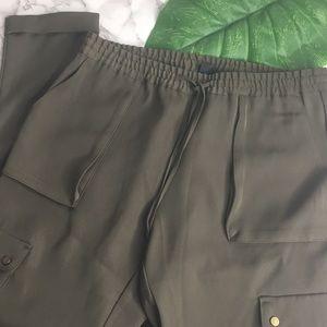 H&M | Green Cargo Pants